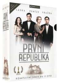 PRVNÍ REPUBLIKA - 1. SÉRIE DVD