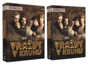 VRAŽDY V KRUHU DVD