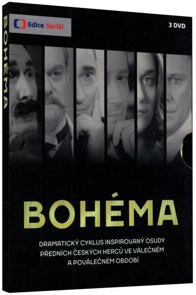 BOHÉMA (3XDVD) - TV SERIÁL ČESKÉ TELEVIZE